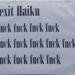 【悲報】イギリス人さん…とんでもない俳句(Haiku)を作ってしまう…:キニ速