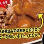 【速報】いきなり!ステーキについにカレーが登場:キニ速