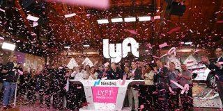 Lyftの上場初日株価は9%アップで引ける、時価総額は2.6兆円超え   TechCrunch