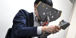 「Nintendo Labo: VR Kit」をいち早く体験-「本物」の風を感じ、VR空間で「3Dお絵かき」も - CNET