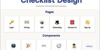 WebサイトやスマホアプリのUIデザインに必要な要素・あると便利な要素がまとめられたリスト -Checklist Design | コリス