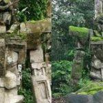 どう見てもガンダムな石像がインドネシアで発見される、地元民は数百年前のものと証言か – GIGAZINE