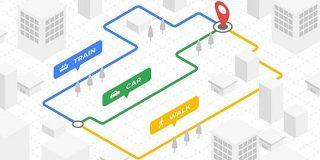 Google Maps URLで現在地からのルートを「交通手段別」で作る   東京上野のWeb制作会社LIG