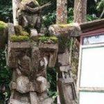 どう見てもガンダム風な苔むした石像の詳細がついに明らかに – GIGAZINE