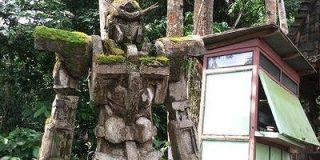 どう見てもガンダム風な苔むした石像の詳細がついに明らかに - GIGAZINE
