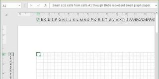 「Microsoft Excel」はリアル方眼紙もプリントアウトできる - やじうまの杜 - 窓の杜