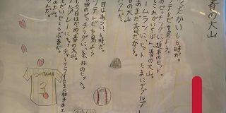 阪神タイガース大山選手について書いた詩が小学生と思えないほどの趣と愛に溢れている「口に出して読みたくなる」「春の大山とかいう季語」 - Togetter