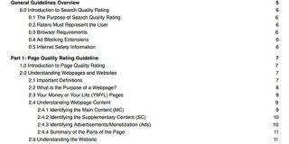 【2019年5月16日】Googleが検索品質評価ガイドラインを更新、やや大きめの変更点は3つ | 海外SEO情報ブログ