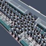 「満員電車で快適に過ごすための動き方」を物理シミュレーションで解き明かす – ITmedia