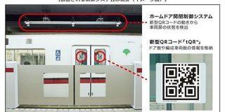 車窓に「QRコード」でホームドア制御、停車時間を短縮 都営地下鉄が導入 - ITmedia