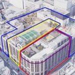 「九龍城塞みたいなもの」伊勢丹新宿店は大きなビルに見えるけど、1920年代から60年代までに増改築した4つの建物が複雑に組み合わさってできている – Togetter