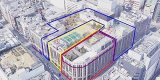 「九龍城塞みたいなもの」伊勢丹新宿店は大きなビルに見えるけど、1920年代から60年代までに増改築した4つの建物が複雑に組み合わさってできている - Togetter
