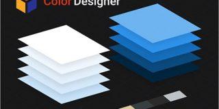 デザイン的に合う色の組み合わせを指定されたカラーをベースに生成する無料ツール -Color Designer   コリス