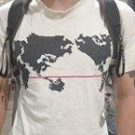 九州だけで構成された「世界地図っぽい」Tシャツ 込められたメッセージが泣ける – Togetter