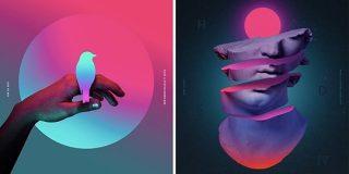 グラフィックデザインの2019年最新トレンド15選 デジタルアートで好まれる手法とは?|SeleQt