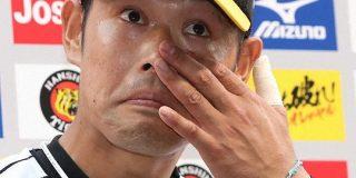大腸がんから復帰の阪神・原口 サヨナラ打で試合を決めた「生きて野球をやれる意味がある」 : なんじぇいスタジアム