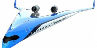 客室と主翼が一体化したV字型 不思議なデザインの新型旅客機「フライングV」をKLMオランダ航空が発表「マイケルシェンカーが乗るのですね」 - Togetter