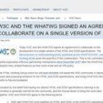 HTML標準仕様の策定についてW3CとWHATWGが合意 今後はWHATWGのリビングスタンダードが唯一のHTML標準仕様に – ITmedia