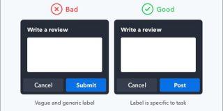 ボタンのラベルには分かりやすい文言が重要、ユーザーが使いやすい文言の選び方 | コリス