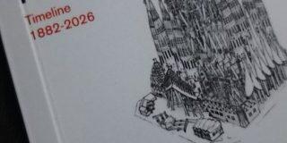 サグラダ・ファミリアの1882年~2026年までの工事期間がパラパラ漫画に!年代ごとの過程やこれから出来上がる箇所もわかるよ - Togetter