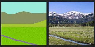 簡単に描いた落書きから写真のようにリアルな画像を自動生成するツール -GauGAN|コリス
