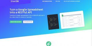 GoogleスプレッドシートでAPIが作れる「SheetDB」 | AnyPicks magazine