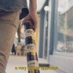 ビール缶を縦につないで運ぶ 新デザインが話題に | NHKニュース