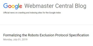 Google主導のもと、Robots Exclusion Protocol(REP)がインターネット標準に | 海外SEO情報ブログ