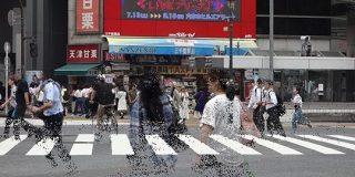 渋谷の交差点から人をじわじわ消す : デイリーポータルZ