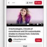 Pinterestは新機能を用意して動画投稿の増加を狙う | TechCrunch