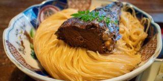 【長浜】湖北地方に昔から伝わる焼鯖そうめんを頂きました。とても旨いです@翼果楼 (よかろう)初訪問 - 八五九堂 Blog