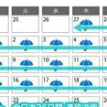 雨が止まない設定の東京を描いた「天気の子」が公開された7月に、東京が26日連続雨がやまない天気が続いたというのは本当にすごい。 – 頭の上にミカンをのせる