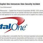 米金融大手Capital One、1億人超の顧客情報流出か 米紙は「過去最大規模」と報道 – ITmedia