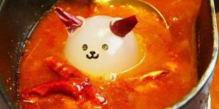 大量の唐辛子が浮かぶ鍋にかわいい悪魔がみるみる溶けていく「激辛!小悪魔鍋」「超激辛!デビル鍋」を食べてみた - GIGAZINE