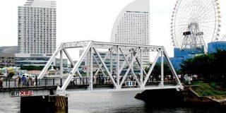 横浜港の廃線跡を歩いてみた レトロな明治の鉄橋そのまま、近くに東急線跡の遊歩道も | 乗りものニュース