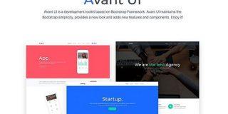 これ簡単!BootstrapのデザインをカスタマイズできるWebツール Avant UI - PhotoshopVIP