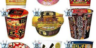 カップ麺おすすめランキングBEST18! | もぐナビニュース