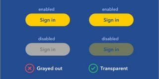 UXデザイナーから学ぶ、無効状態のボタンをグレーアウトにしない理由 | コリス