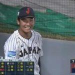 U-18 奥川、7回18奪三振 → 8回から佐々木が登板か : なんJ(まとめては)いかんのか?