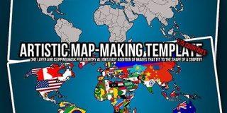 無料で使える!ハイセンスな世界地図ベスト25|SeleQt