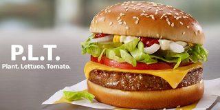 マクドナルドが植物由来肉のハンバーガーをカナダで試験販売 | TechCrunch
