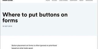 フォームのボタン配置はどこが最適か、左揃え・横並び・上下など、フォームのタイプごとに詳しく解説 | コリス