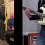 電車の人と BON JOVI livin on a prayer コラボしてみた – YouTube