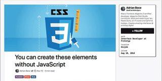 HTMLとCSSも進化している!JavaScriptを使用せずに、HTMLとCSSだけで実装できるUI要素のまとめ   コリス