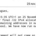 「IPv4枯渇」でネタに走ってしまう人たち – Togetter
