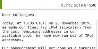 「IPv4枯渇」でネタに走ってしまう人たち - Togetter
