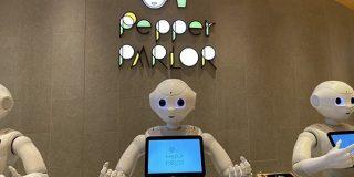 相席Pepperがかなうカフェ-東急プラザ渋谷に「Pepper PARLOR(ペッパーパーラー) - CNET