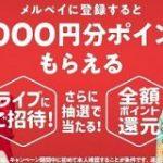 メルペイが年末年始企画 抽選で最大1万円分還元、きゃりーのライブに招待 – ITmedia