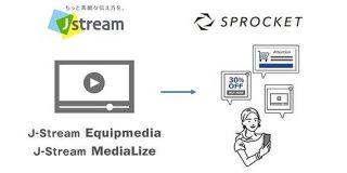 Sprocket、Jストリームの動画配信プラットフォームと連携 動画視聴履歴をWeb上の接客に活用:MarkeZine