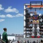 実物大の「動くガンダム」、横浜に現る 10月から一般公開 – ITmedia